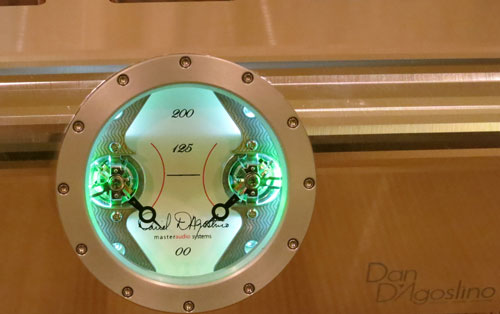 Dag Stereo Amp Meter