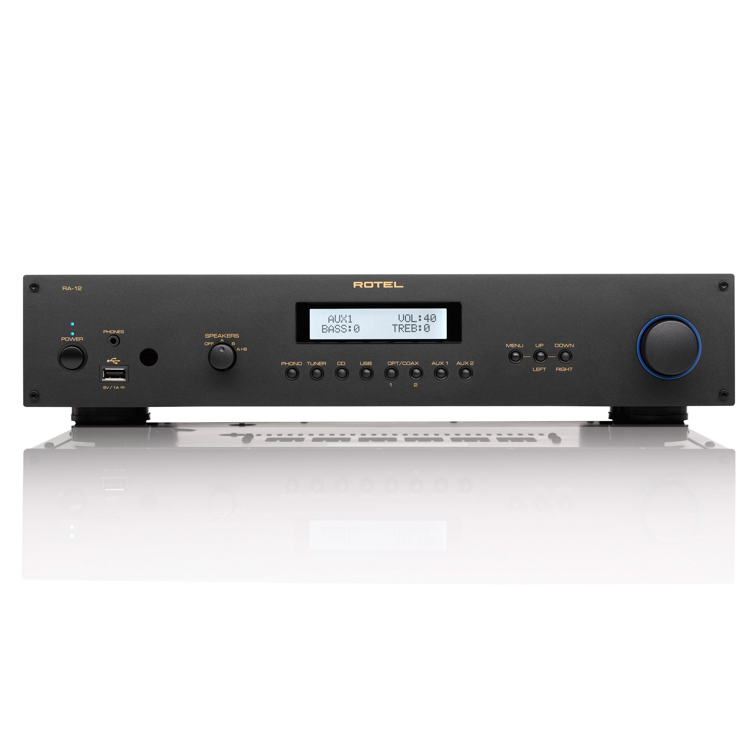 Rotel Audio Exchange Ra 1520 Integrated Amplifier 12