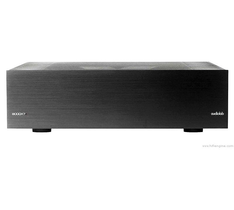 audiolab 8000x7 multi channel power amplifier