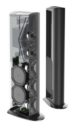 Goldenear Triton Reference floor stander active base speaker